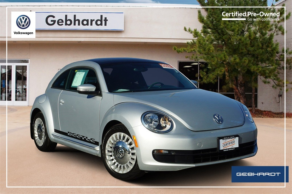 Certified Pre-Owned 2013 Volkswagen Beetle 2.5L
